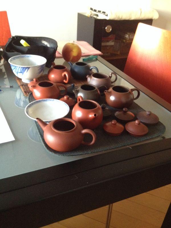 Von Phoenix geduschten Teekanne!