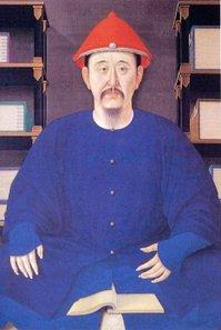 Kaiser Kangxi der Qing-Dynastie