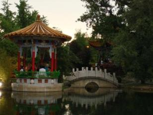 China Garten Pavillon