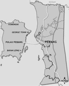 pinang map