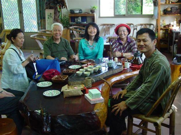 Besuch beim Herrn Hsu in Miaoli