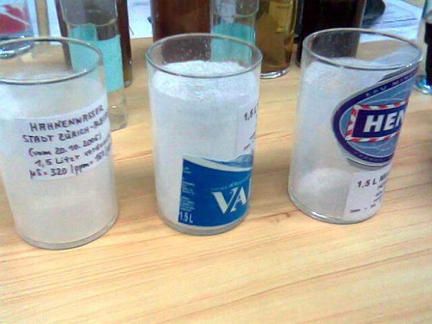 Das Geschäft mit dem Wasser