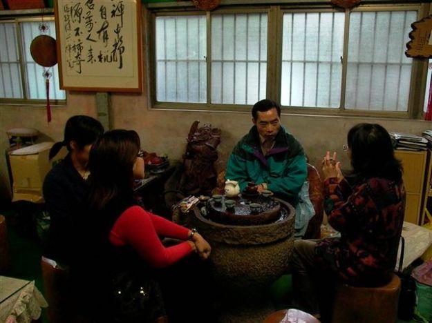 Besuch in Shiding
