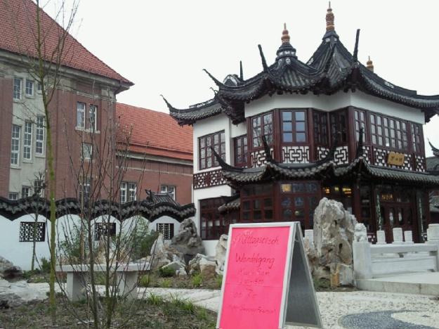 Ein Teehaus, sehr chinesisch