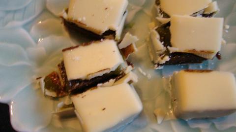 Eine Begegnung zwischen Matcha und Schokolade