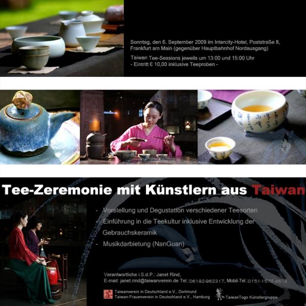 Einladung zur Tee-Zeremonie in Frankfurt