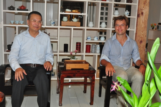 來自台灣的茶葉大師