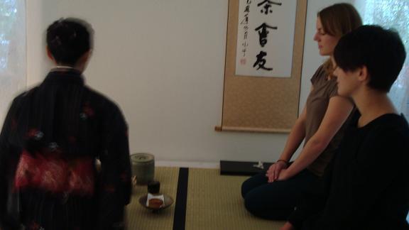 Der erste Tee in Shui Tang
