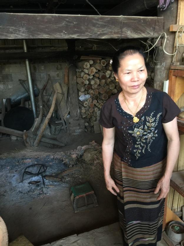Besuch beim Erbin von nationaler unsichtbaren Kulturerbe Chinas